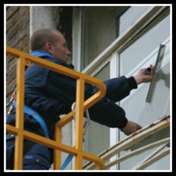 commercial window cleaner luton