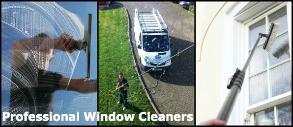 Professional window cleaners Luton